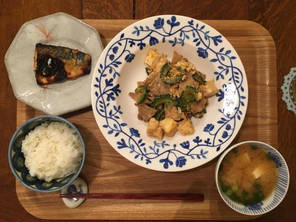 夕食-20160905