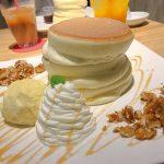 京都のパンケーキとペルゴラのプレート