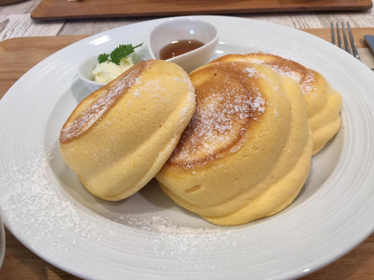 ニノーバルカフェの夢みるパンケーキ