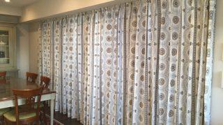 新居マンションのカーテンはマダム・ワトソンでオーダーしました〜リビング編〜